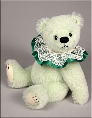 'Liberty' was created by UK bear artist Paula Carter  www.allbear.co.uk  #teddy #bear #artist #Paula Carter    Bearing All