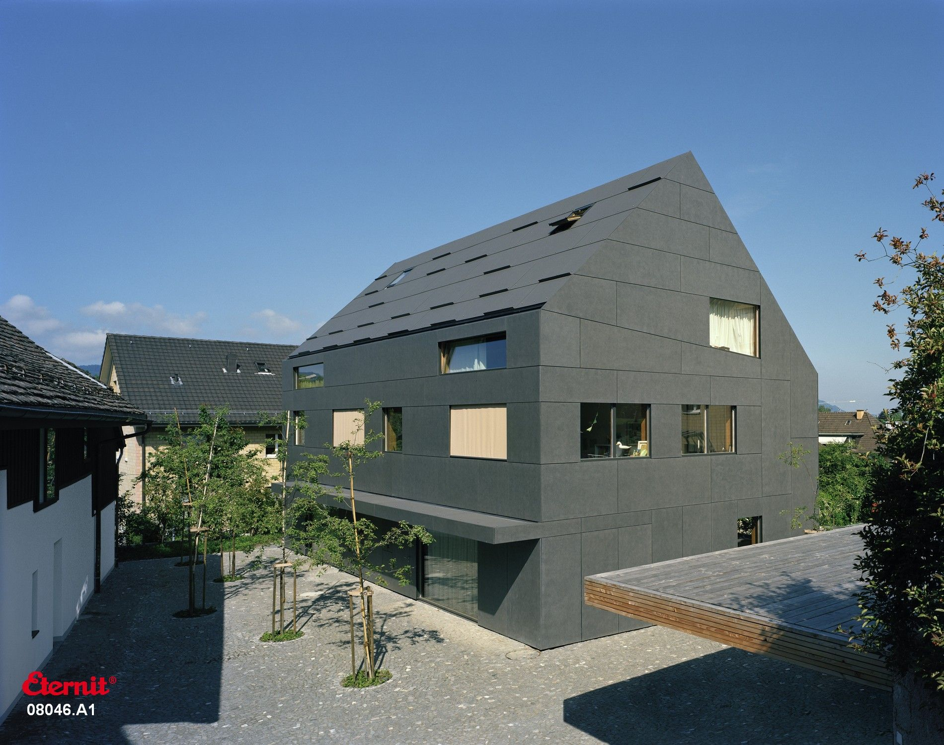 Eternit Fassade Struktur Facade Eternit Ideas For The House Duplex House House House