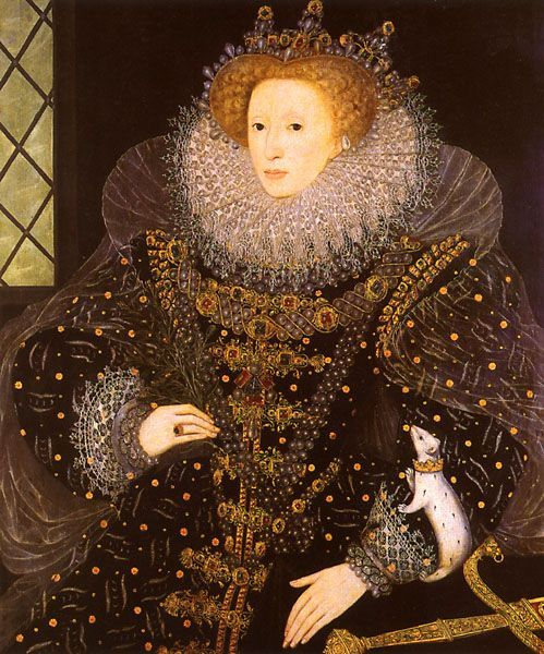 William Segar, The Ermine Portrait 1585