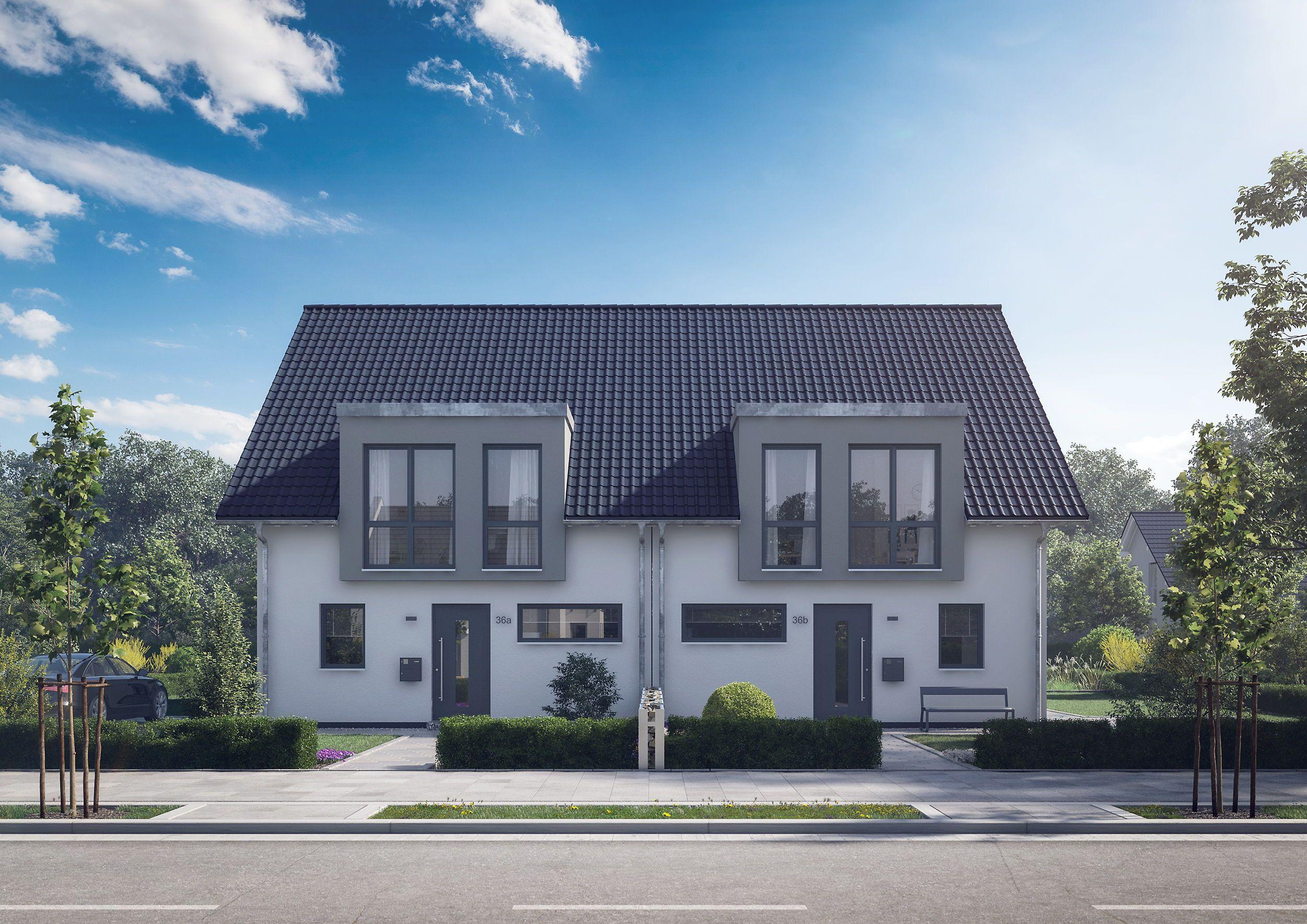 Doppelhäuser in 2020 Haus, Doppelhaus bauen und Style at