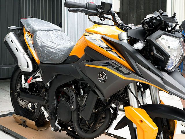 New 300cc Adventure bike from Zongshen | cyclone zhongshen RX3