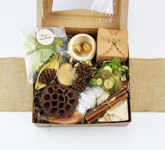 Fairy Garden Kit With Container Fairy Garden Kit For Kids Diy