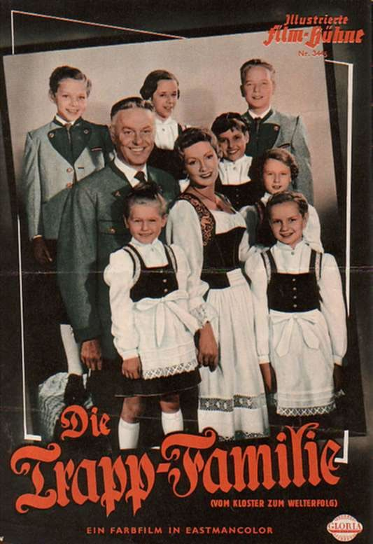 Die Trapp Familie The Original German Movie From 1956 Before The Sound Of Music Hollywood Music Sound Of Music Musical Movies