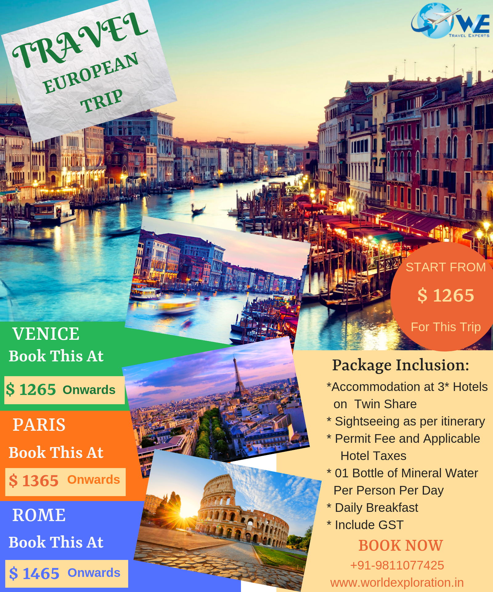 European Trip Is A University Town Between #Italy, #France