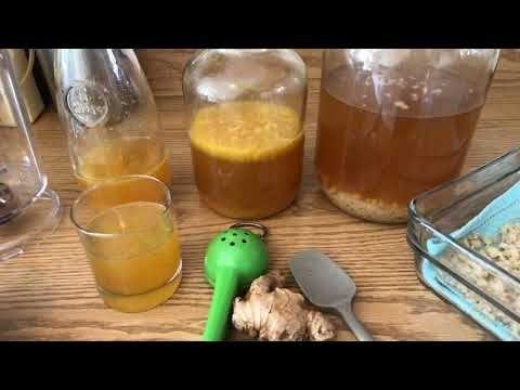 Segunda fermentacion del kefir de agua