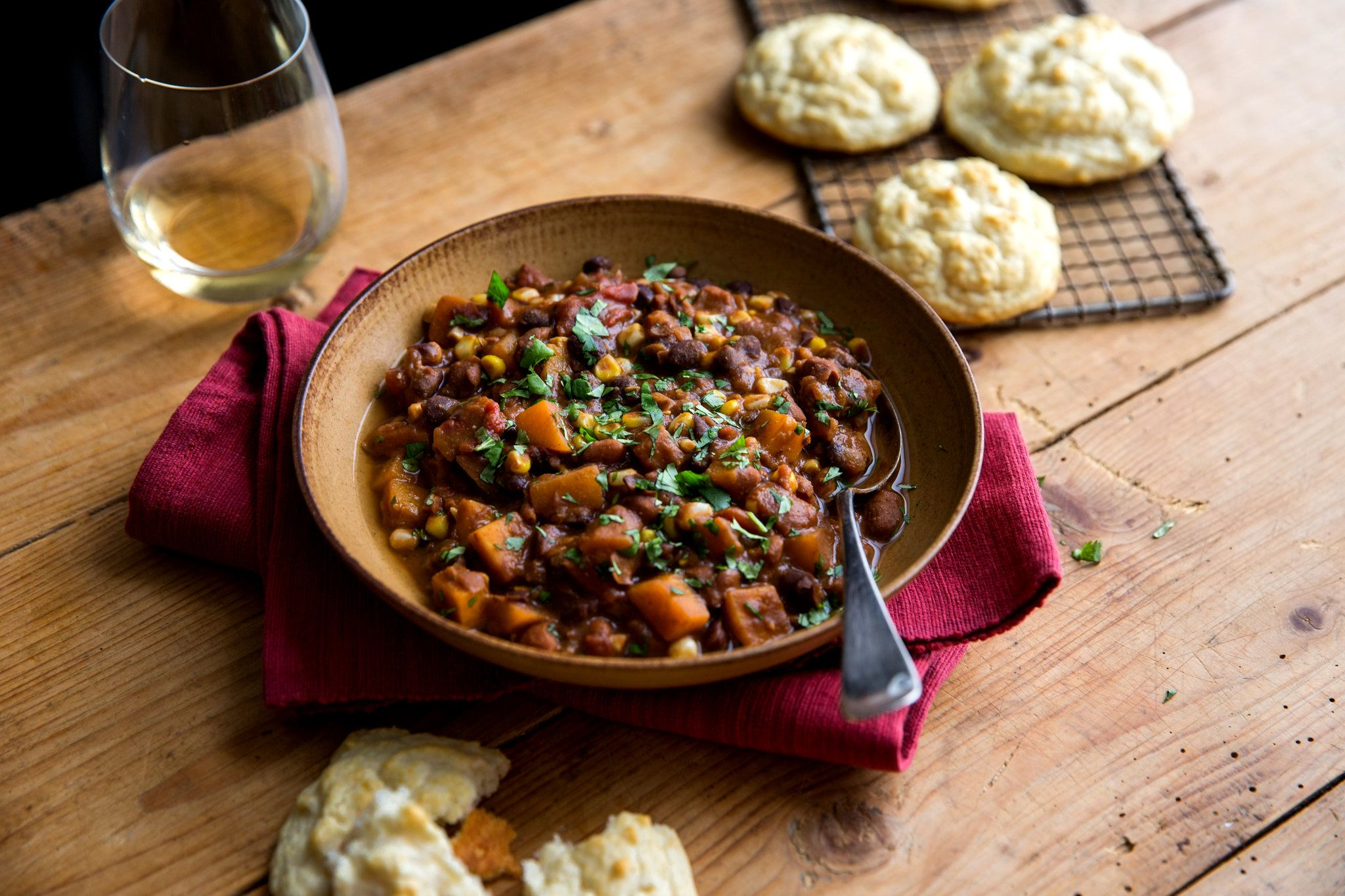 A Third Riff On The Native American Combination Of Beans Squash