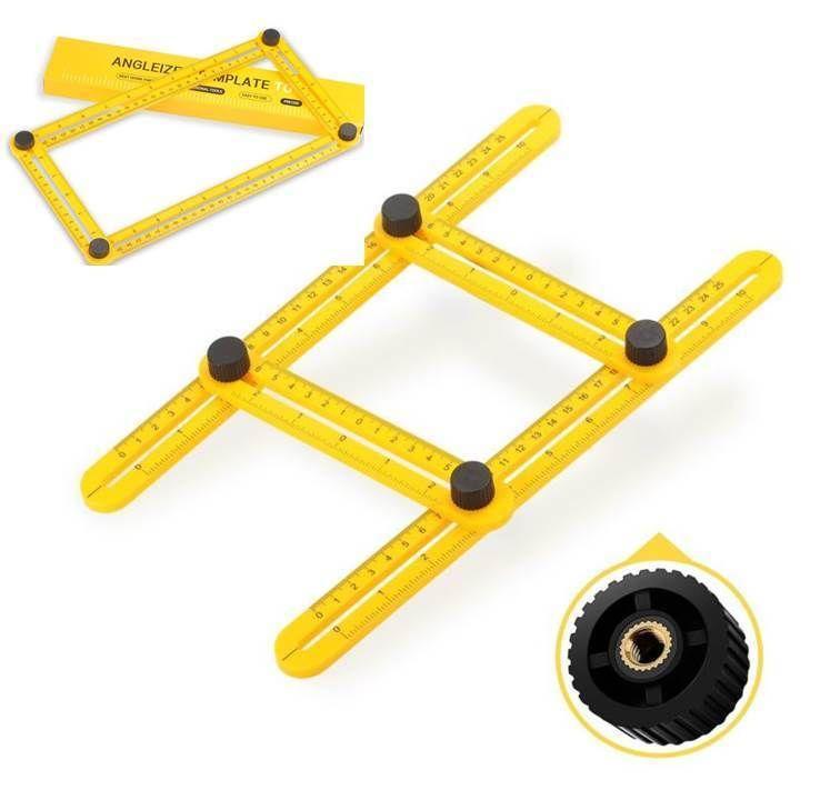 Angle Rule Angle Measurement Tool Lckmall Angle Izer Template Tool