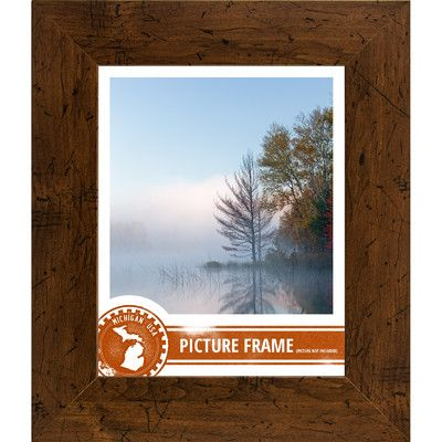 Loon Peak 2 Distressed Wood Picture Frame Distressed Picture Frames Wood Picture Frames Picture On Wood