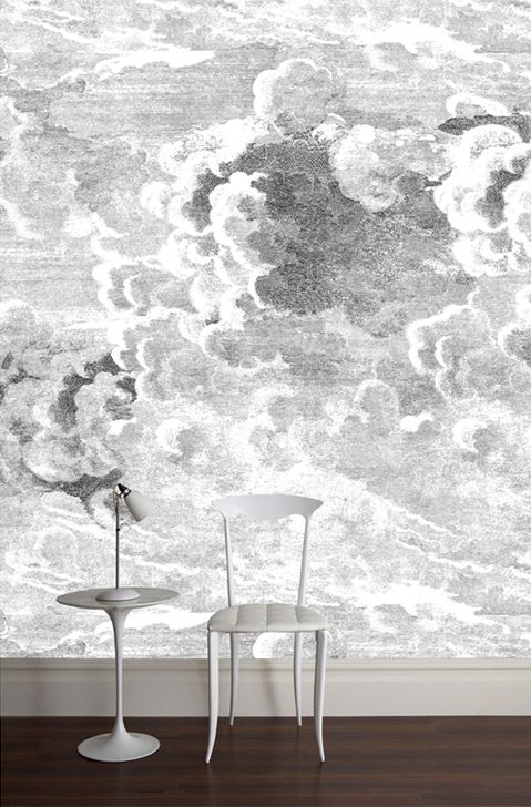 Pin By Rebecca Schultz Design On Wonderful Wallpaper Fornasetti Wallpaper Contemporary Wallpaper Cloud Wallpaper