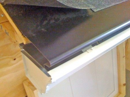 How To Install Bullnose Rain Gutter Covers
