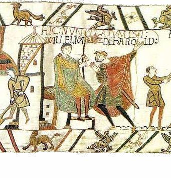 Bayeux Tapestry Tituli Wikipedia The Free Encyclopedia Bayeux Tapestry Tapestry Needlework