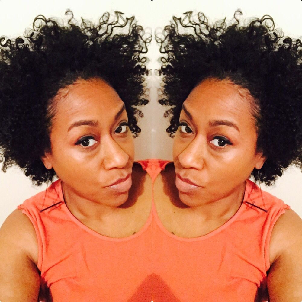 Day 2 Wash N Go I Used Design Essentials Natural Curl