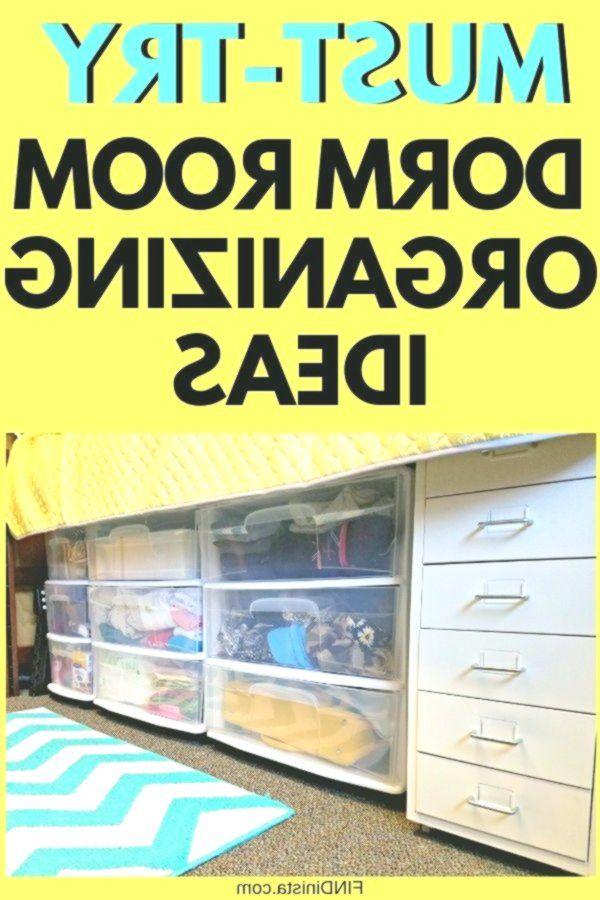 Dorm Room Organization  Great Hacks for Organizing a College Dorm Room #organizingdormrooms