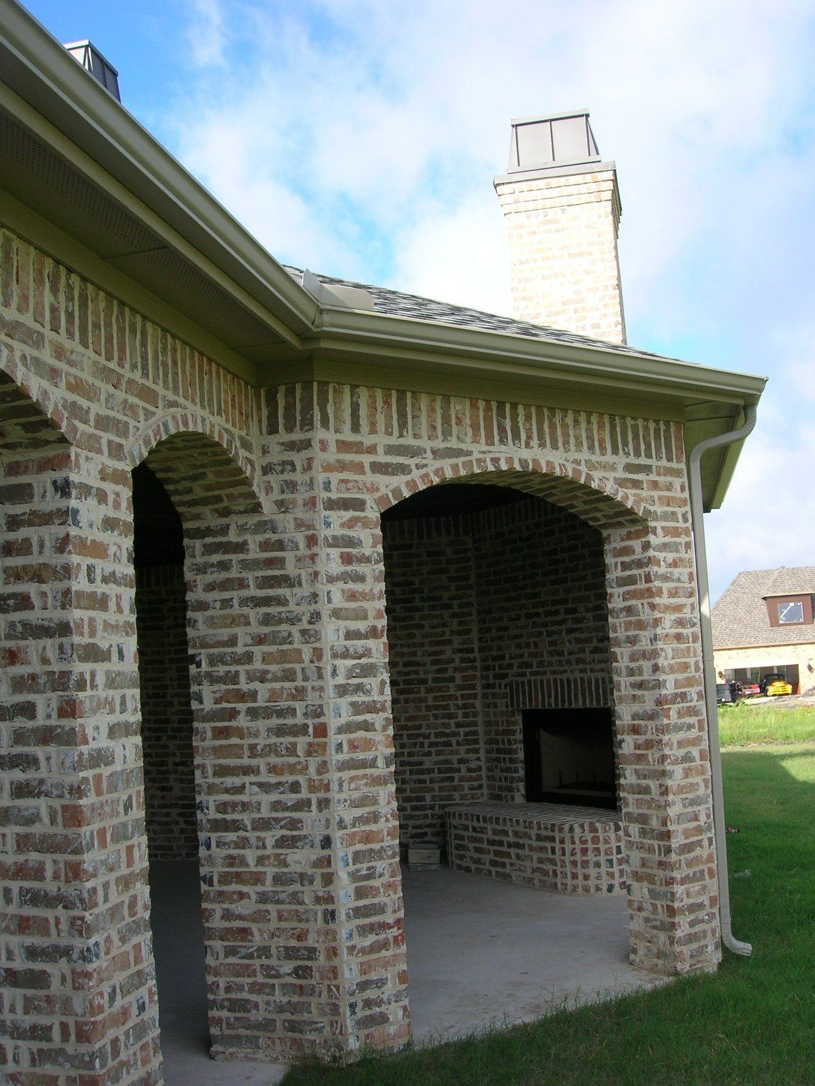 Brick Exterior: Mortar Washed Brick