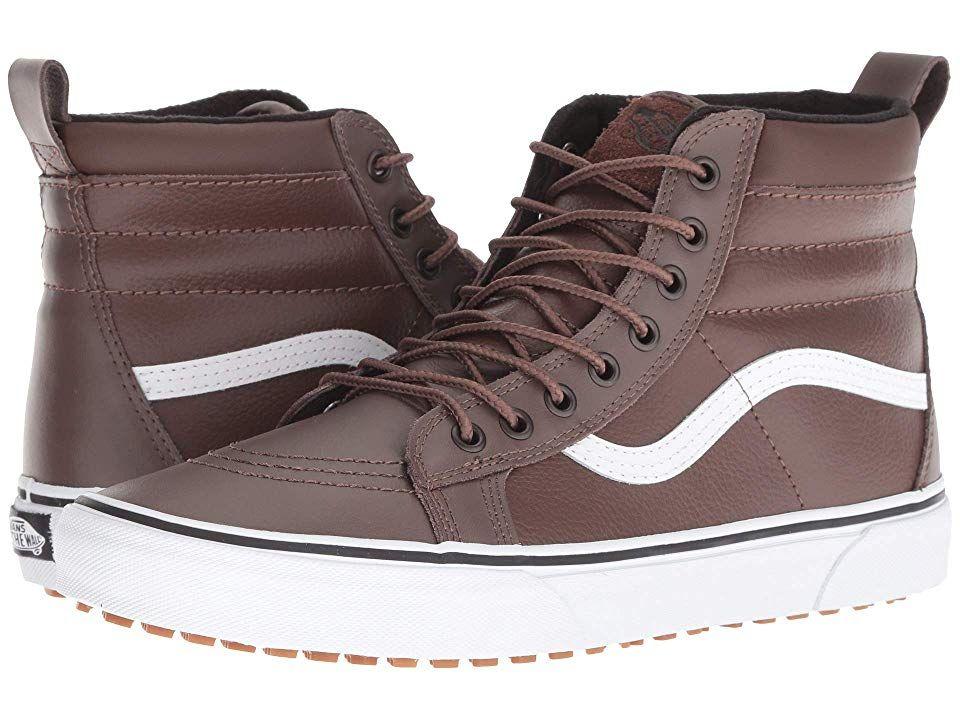 50021c715b Vans SK8-Hi MTE (Rain Drum Leather) Skate Shoes. Keep your favorite ...