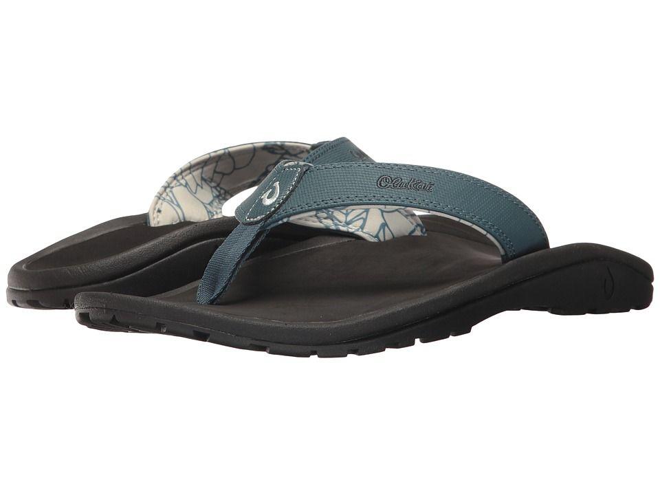 ecb5174c7 OluKai Ohana Men s Sandals Stormy Blue Black