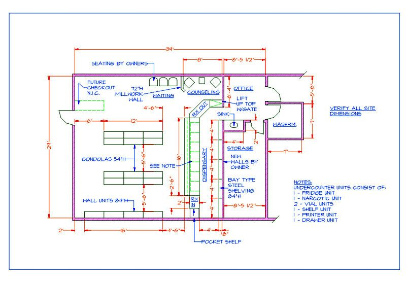 Pharmacy Design Plans Pharmacies Floor Plans