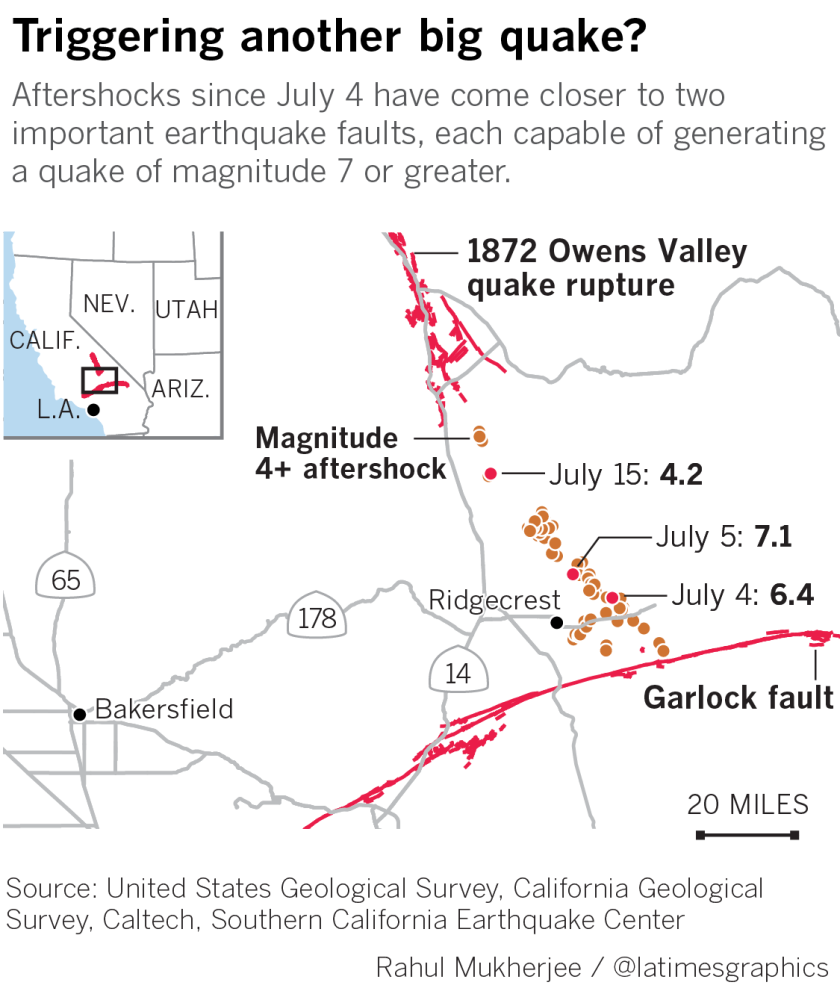Wednesday Oct 30 2019 The Twin Magnitude 6 4 And 7 1 Earthquakes That Struck The Ridgecrest Area In California S Mo Ridgecrest San Andreas Fault Earthquake