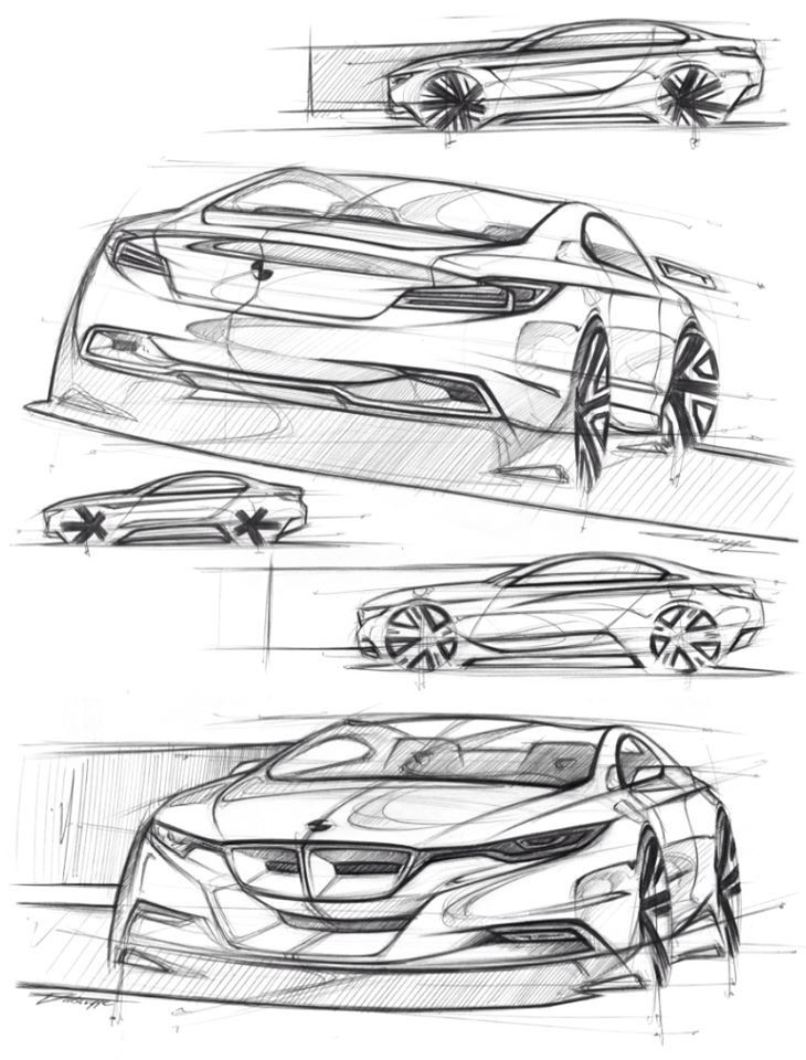 Bmw Sketches The Ultimate Driving Machine Pinterest Sketches