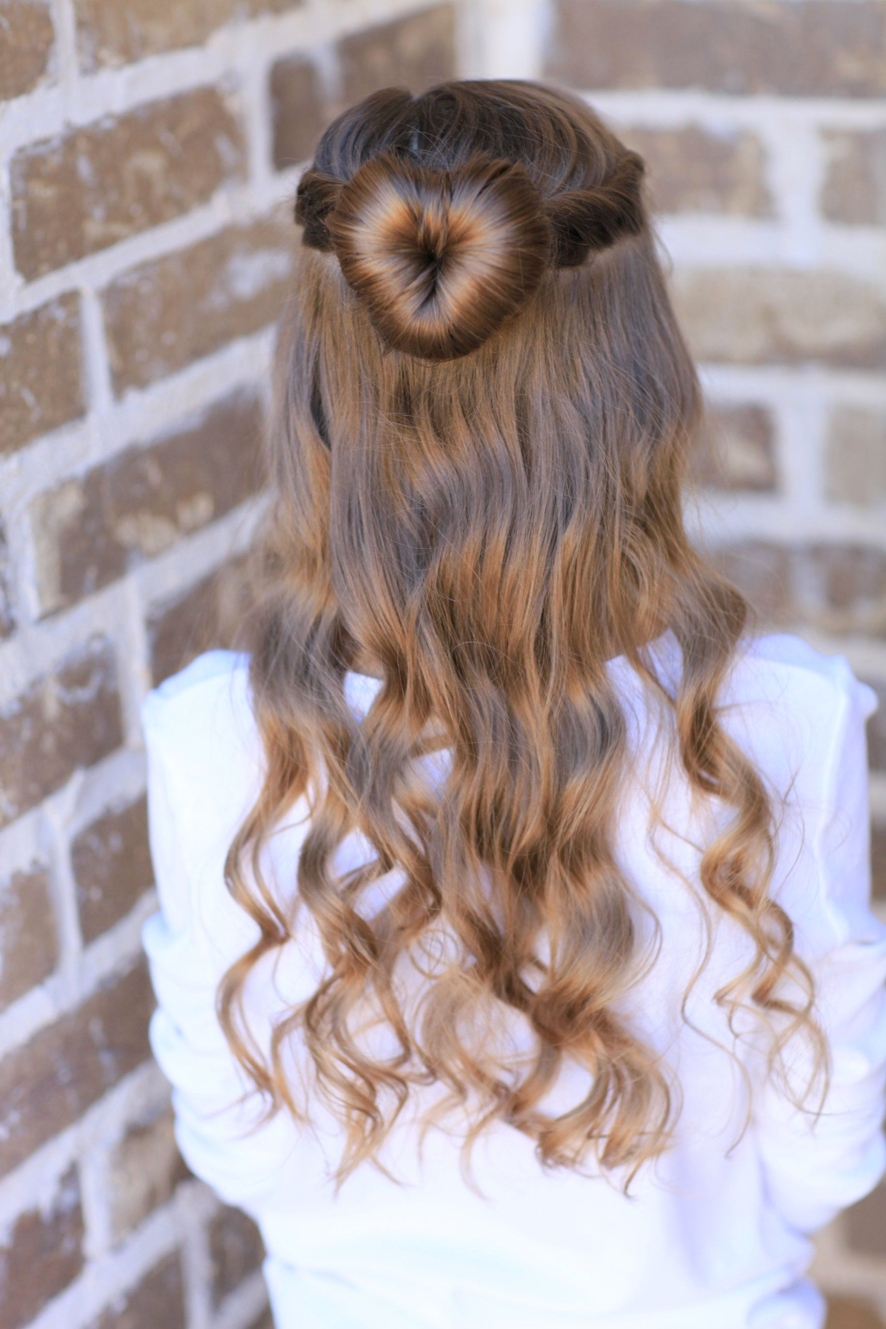 Love bun valentineus day hairstyles and more hairstyles from