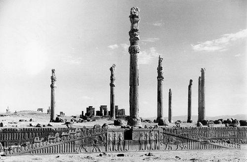 Apadana Audience Hall Staircase W Processional Frieze Persepolis Iran Ca 521 465 Bce Art History Ancient Near East Ancient Art