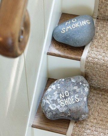 """Zou ook op de """"voordeur"""" kunnen met van die Xenos stenen handvaten (schroef zit hier al in!)"""