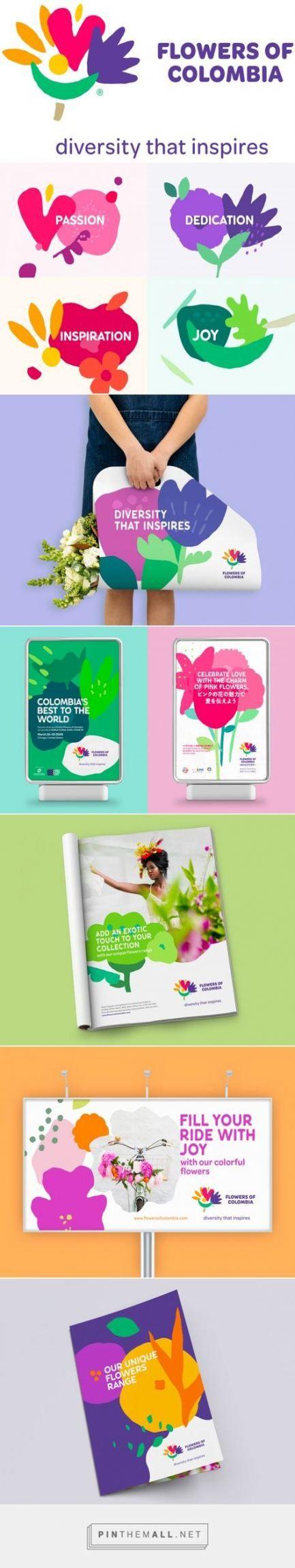 Flowers logo brand identity corporate design 57 ideas