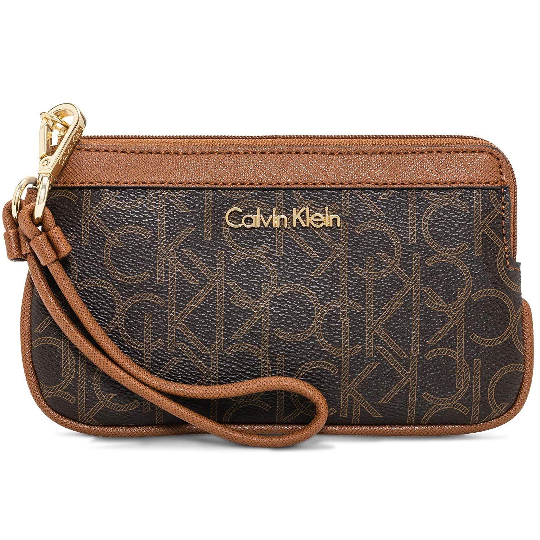 Calvin Klein Sonoma Key Item Novelty Crossbody Bag Khaki