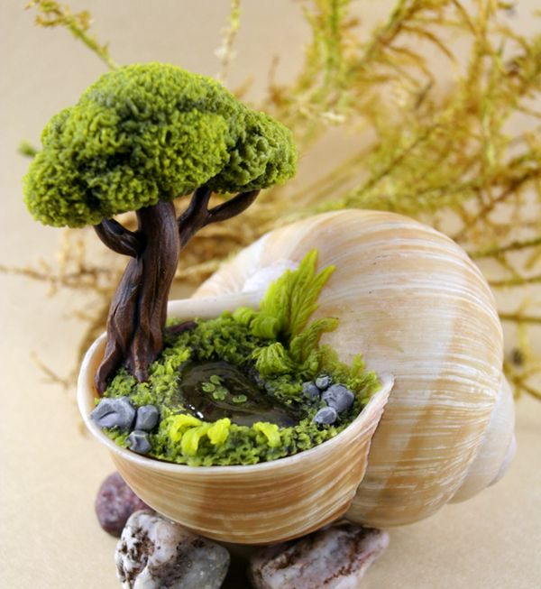Great 35 Miracle DIY Miniature Fairy Garden Ideas   Home Design And Interior