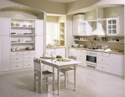 otra cocina blanca