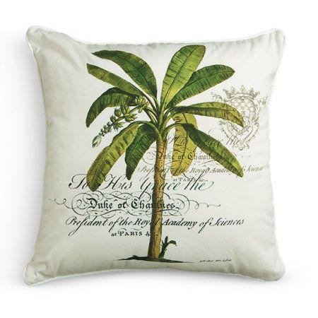 Williamsburg C Palm Tree Throw Pillows Kissen My Pool