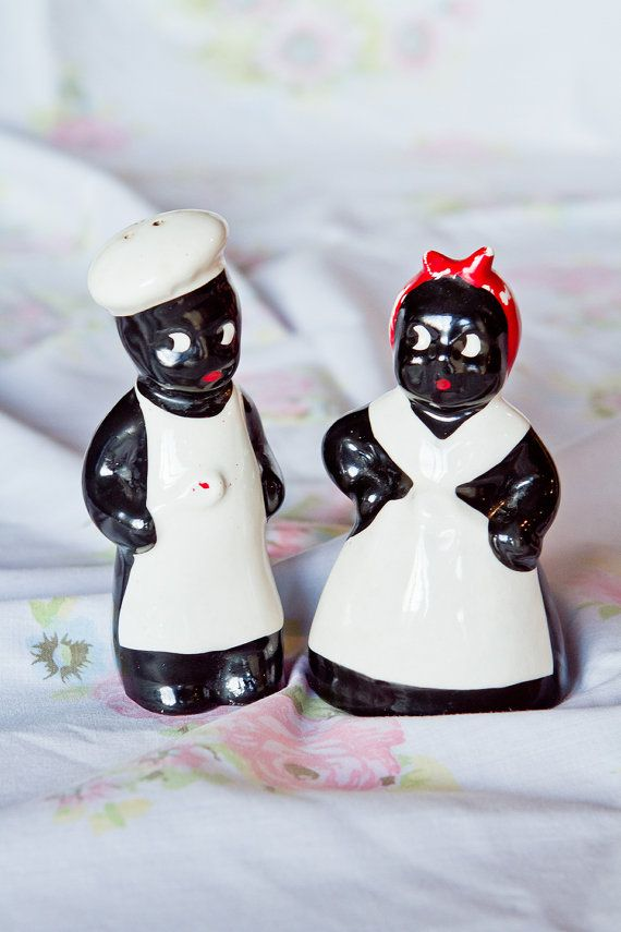 home decor kitschy love!! <3   Vintage Black Americana Aunt Jemima Mammy by laceandpearlvintage, $9.00