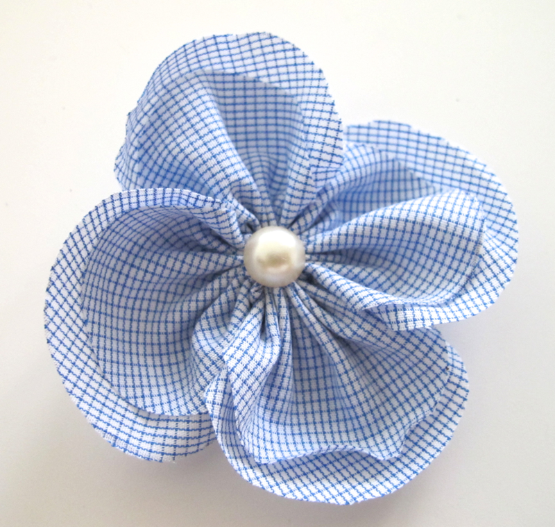 Diy Fleur En Tissu Super Facile Et Rapide Couture Pinterest