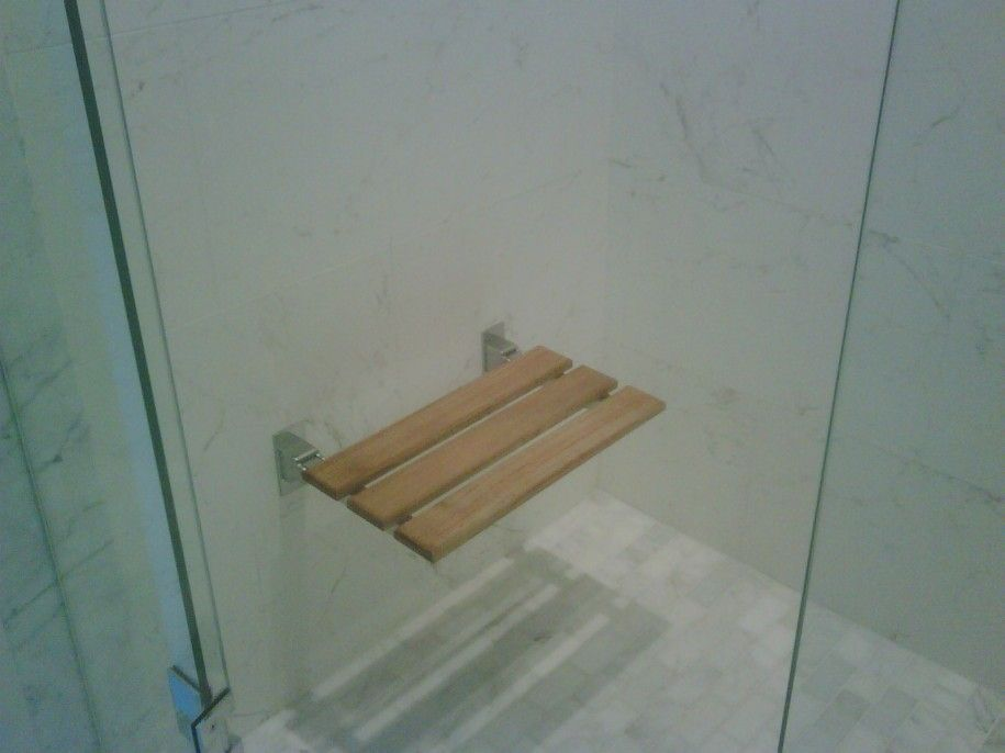 Built in Shower Seats for The best of Your Bathroom : Minimalist ...