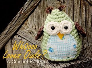 2000 Free Amigurumi Patterns: Simple and Sweet Free Owl Crochet Pattern
