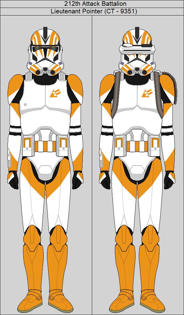 212th Attack Battalion Lieutenant Pointer By Middytheknight Star Wars Pictures Star Wars Infographic Star Wars Helmet