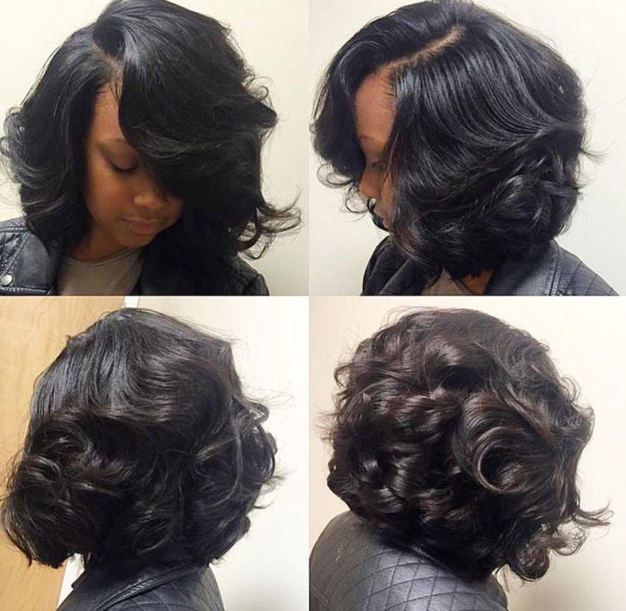 Silk Press Curl Hair Styles Hair Natural Hair Styles