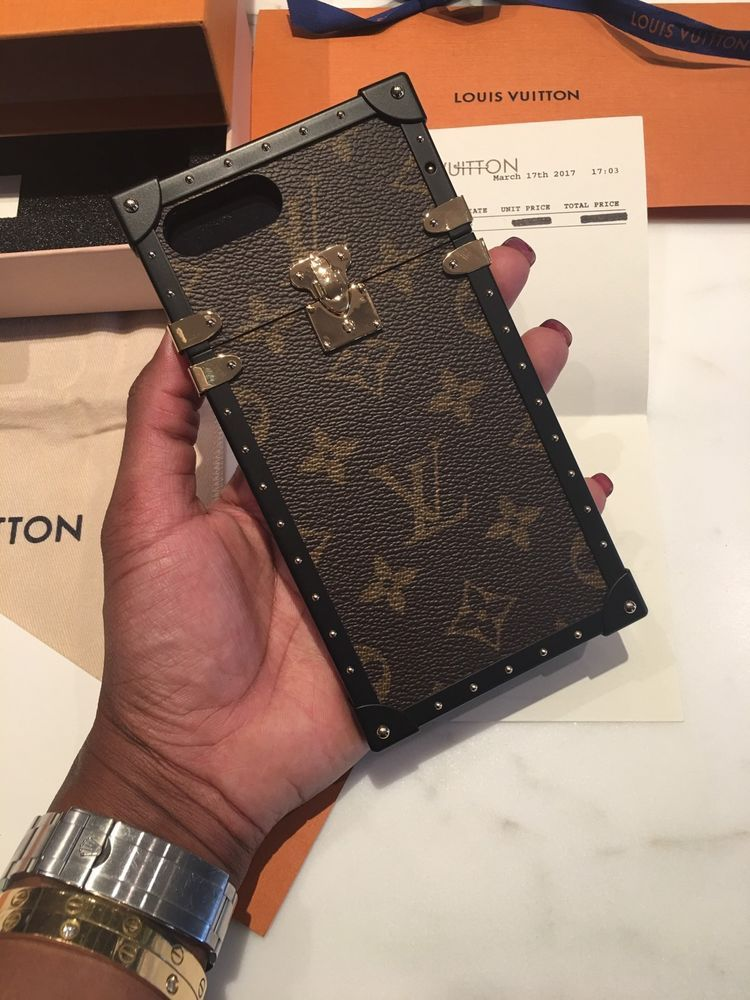 best service 87ff4 db961 Louis Vuitton Malle Eye-Trunk Classic Monogram Case iPhone 7 Plus ...