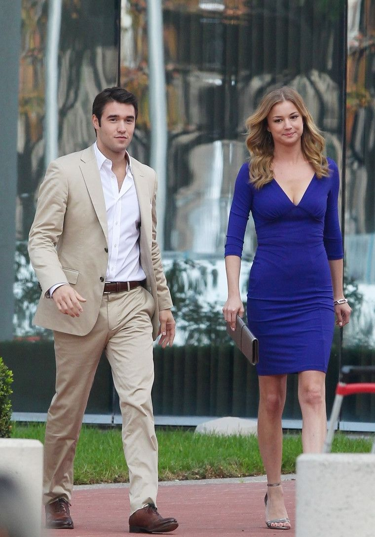 is emily from revenge still dating daniel in real life 'revenge' star josh bowman talks dating co-star emily vancamp it's no secret that actor josh bowman is dating his revenge co-star emily  vancamp has gushed about her real-life relationship .