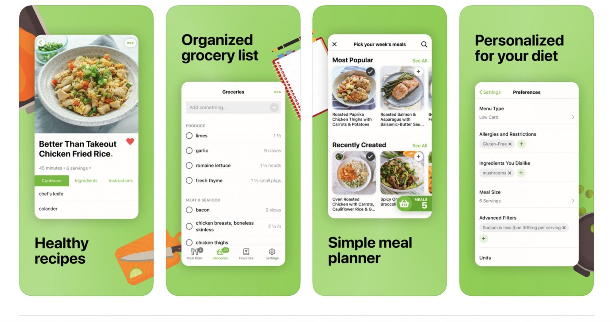 These Apps Will Help You Become a Top-Notch Meal Planner ...