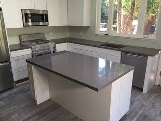 Marin kitchen co san rafael ca united states grey for Kitchen set expo