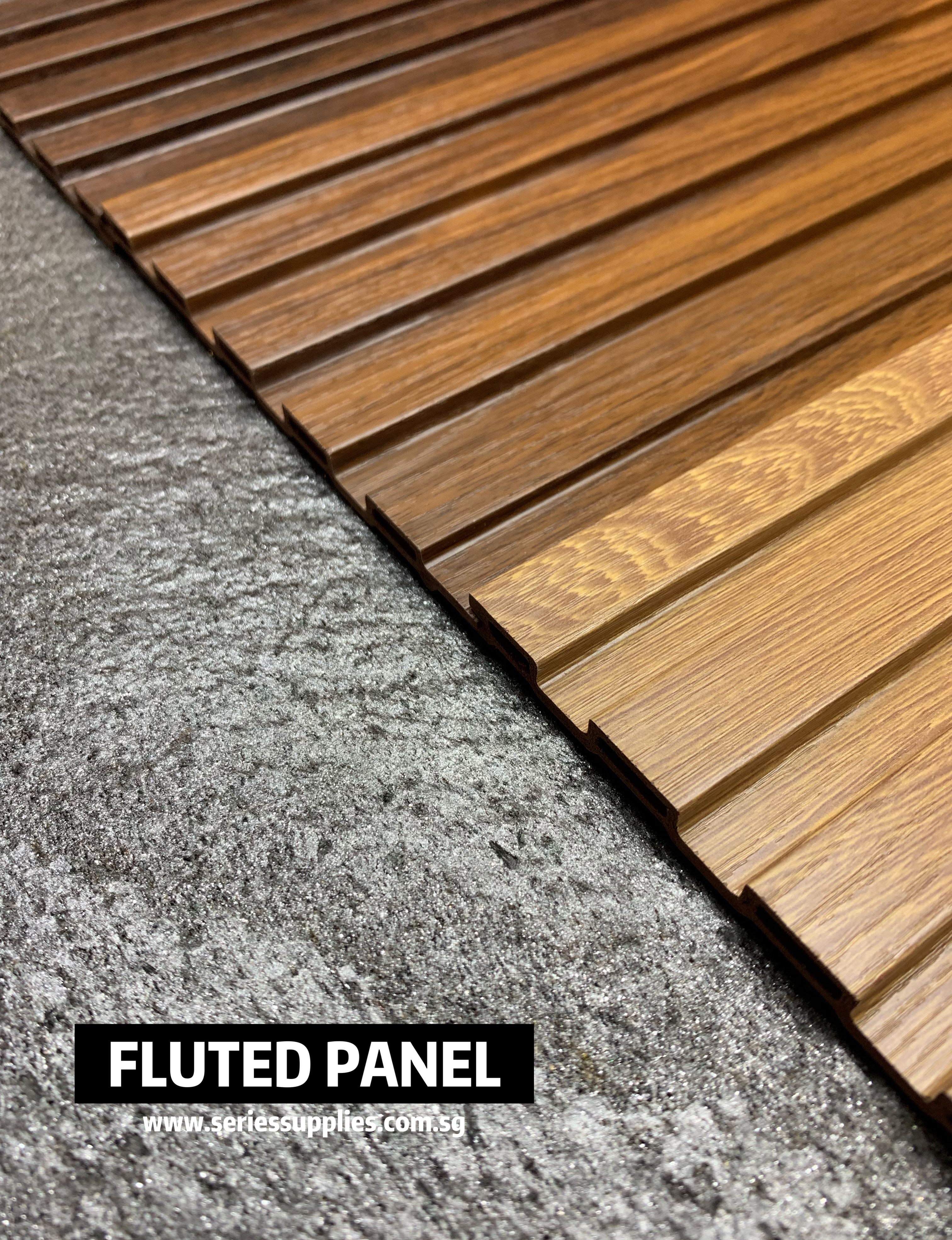 Fluted Wall Panel Wood Plastic Composite Wall Paneling Wall Design