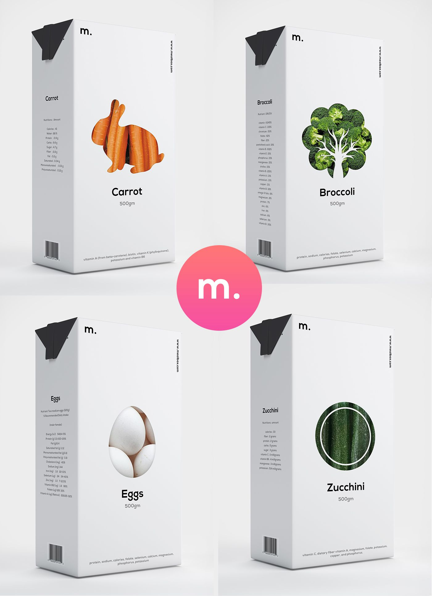Branding and Packaging Design for Mealbox the Indian Kick
