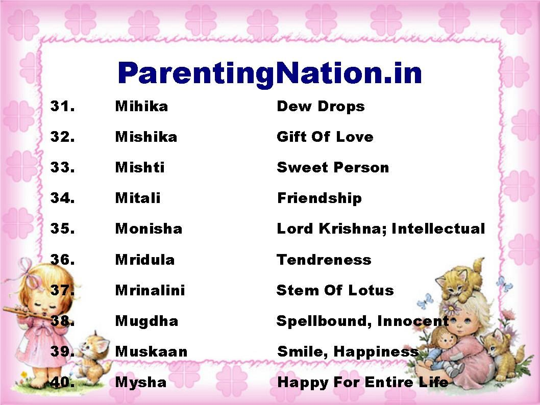Parentingnation provide you with largest resource of baby name here you can find large collection of indian baby names with meaning of sinh rashi like manya mean worthy of honour meghana mean cloud for your lovely negle Gallery