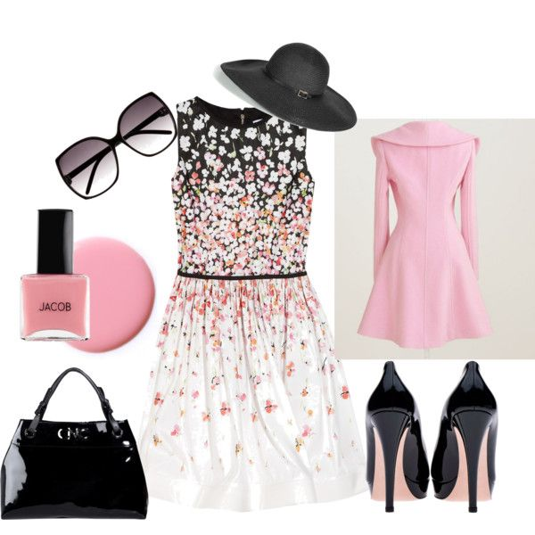 Love pink and black together
