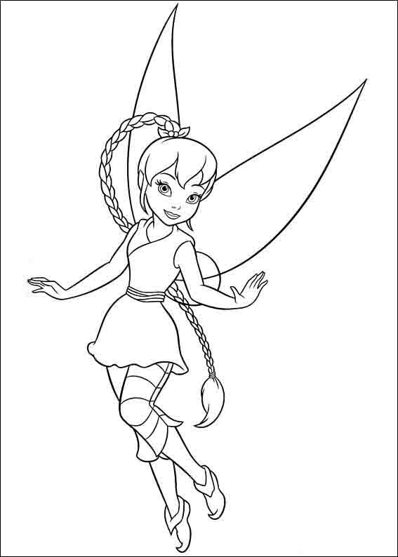 hadas y piratas silver mist coloring pages | Tinker Bell A Winter Story Coloring Pages 14 | Campana ...