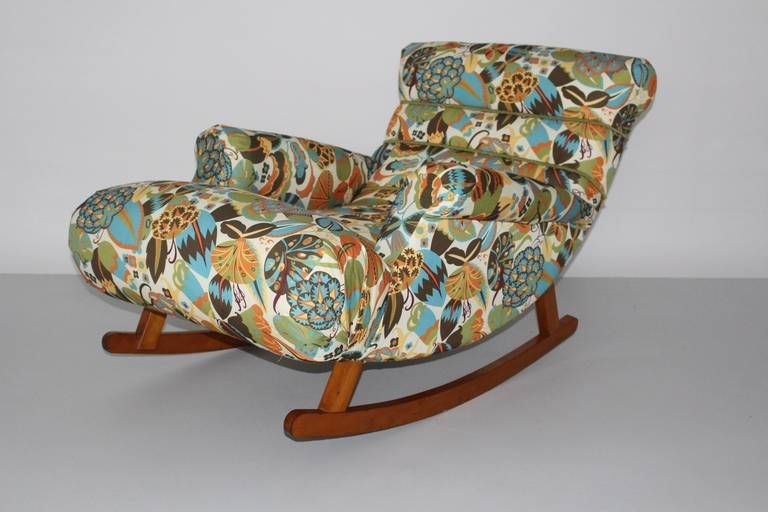 Chair Swing Vienna Vintage Rocking Chairs Adolf Loos Knieschwimmer Variant, Chaise Longue 1920s | Furniture - Chairs, Sofas ...