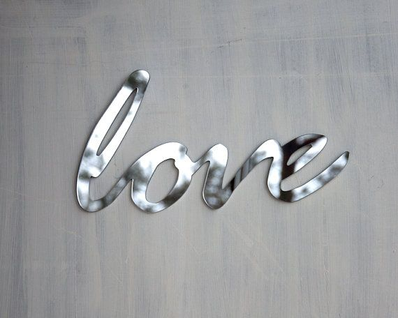 Love Mirror Word Wall Decor On Etsy