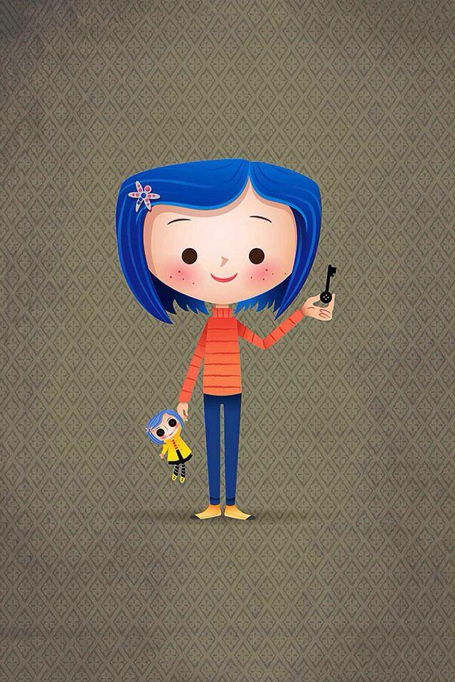 Weekly Vector Inspiration 156 Vectips Coraline Jones Coraline Gaiman