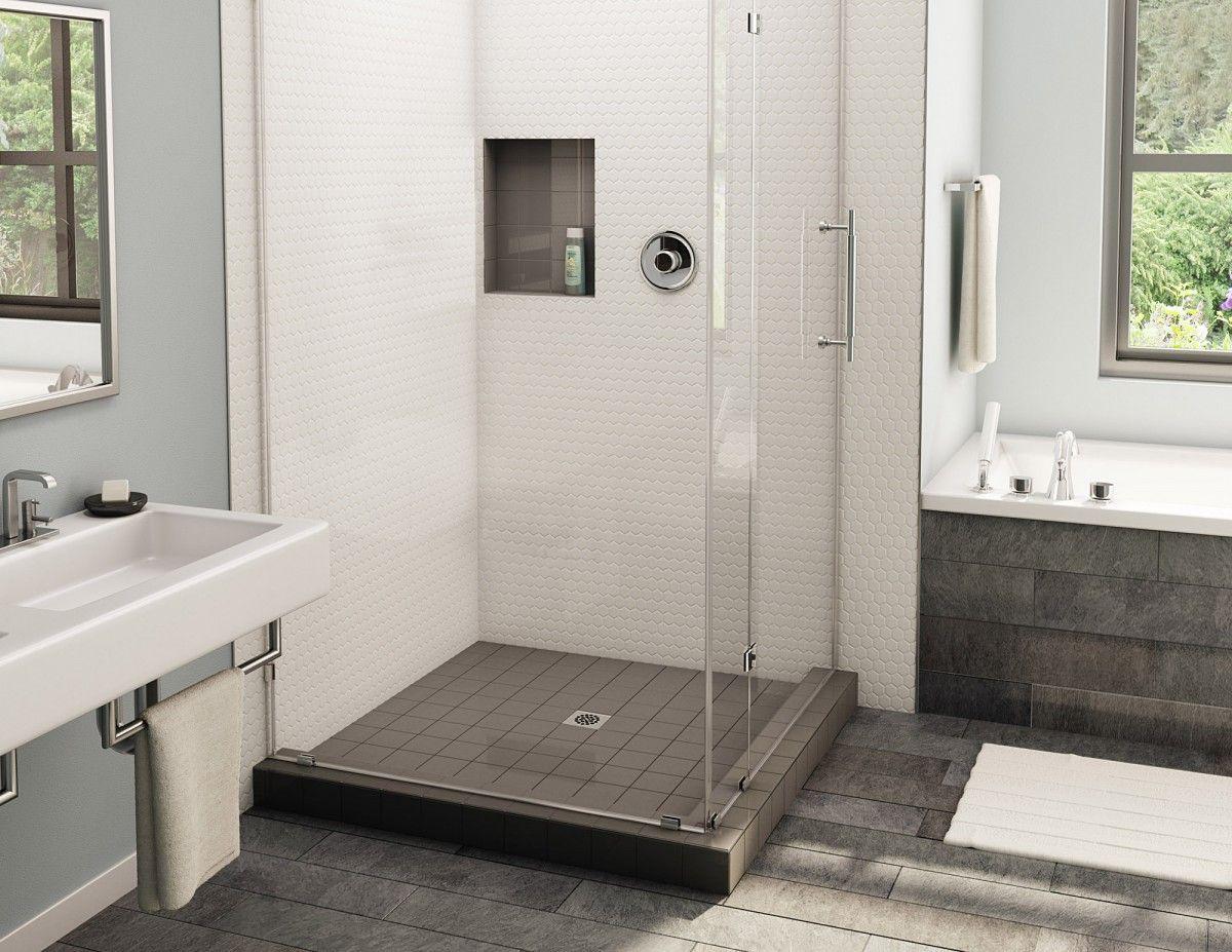Redi Niche Double Recessed Shower Niches 16 X 20 X 4 Recessed Shower Shelf Shower Niche Shower Pan